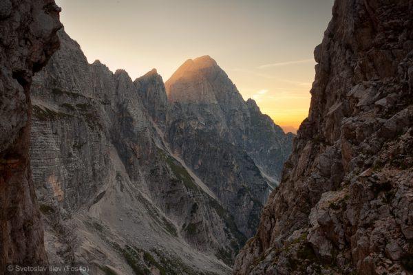 Scalini Pass, Alps, Italy